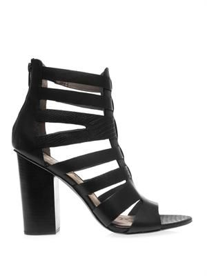 Yazmine leather sandals
