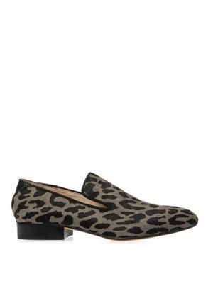 Kalinda calf-hair loafers