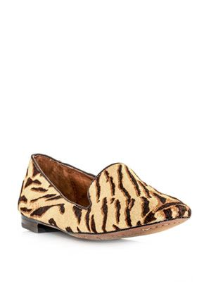 Alvin tiger-print shoes