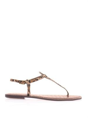 Gigi calf-hair sandals