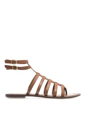 Gilda leather gladiator sandals