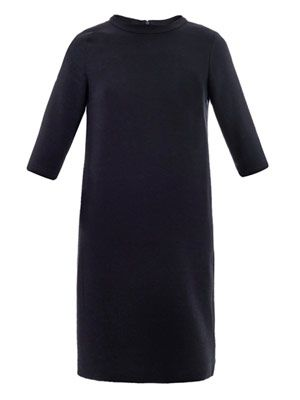Adolfo jersey dress
