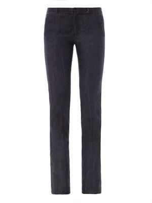 Lulu mid-rise flared jeans