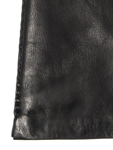 'S Max Mara Long-length leather gloves