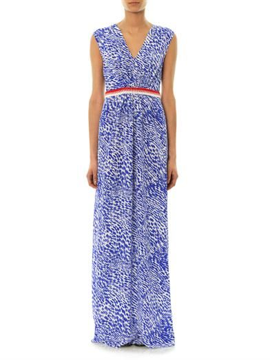 Saloni Ashley silk maxi dress