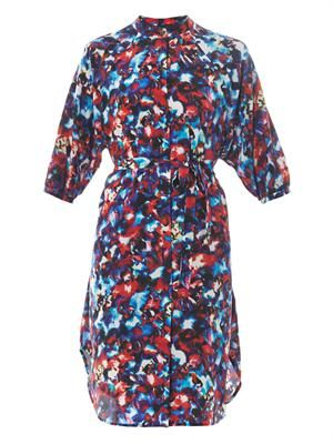 Jessabel floral-print silk dress