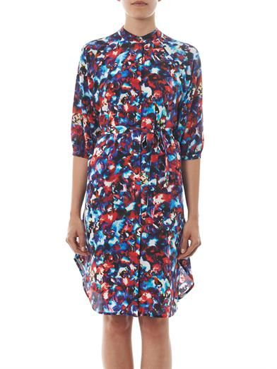 Saloni Jessabel floral-print silk dress