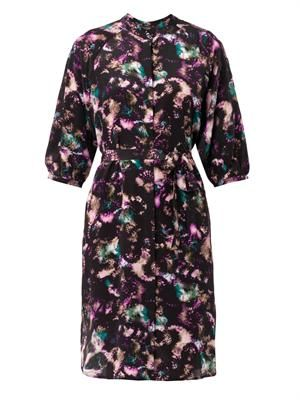 Jessabel Cloudbreak-print shirt-dress