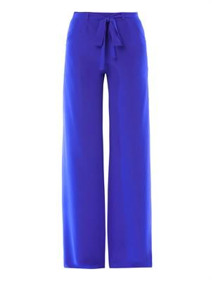 Loretta wide-leg trousers