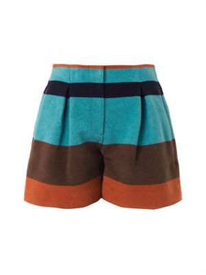 Blanket stripe shorts