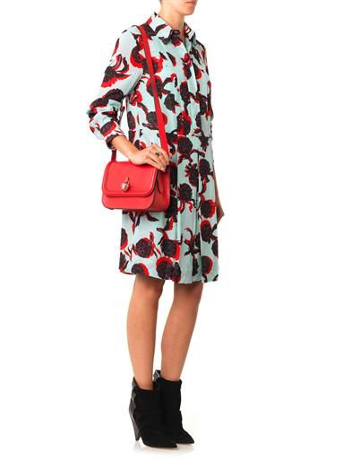 See by Chloé Artichoke-print shirt dress