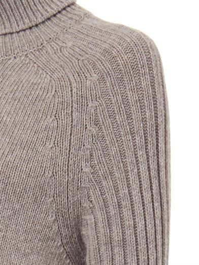 See by Chloé Ribbed wool-blend sweater
