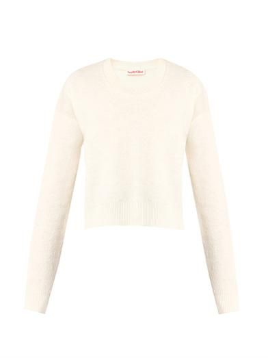 See by Chloé Textured wool-knit sweater