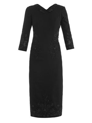 Headmistress beaded dress