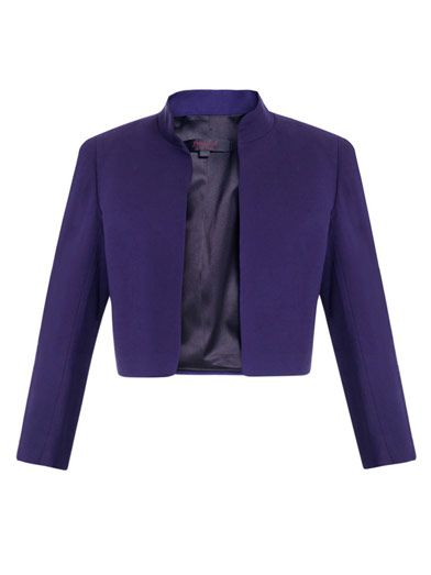 L'Wren Scott Mandarin collar jacket