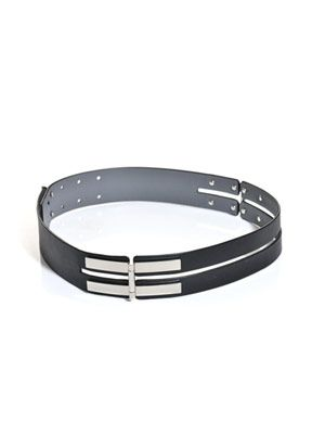 Ares leather waist belt