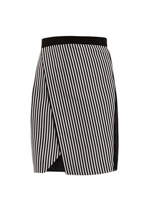 Justin striped skirt