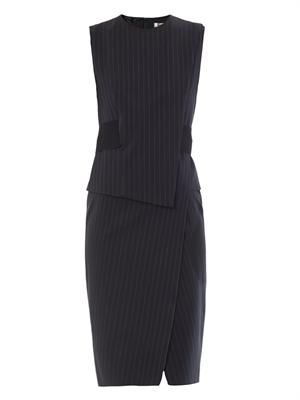 Plinio pin-stripe dress