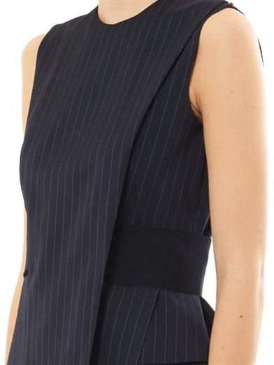 Sportmax Plinio pin-stripe dress