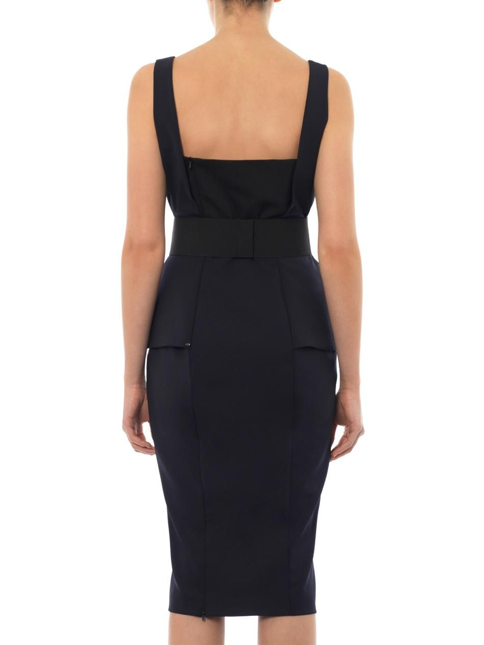 Fibra midnight blue dress  Sportmax