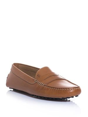Gommini classic leather slipper