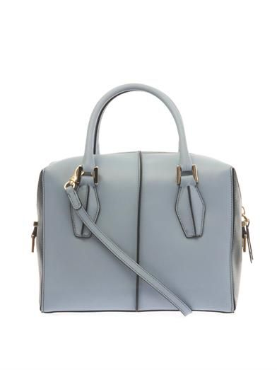 Tod's D-Cube small leather bowler tote