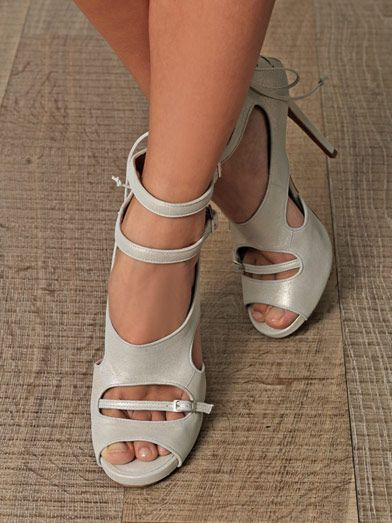 Tabitha Simmons Bailey metallic sandals