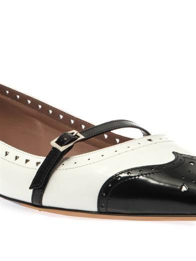 Tabitha Simmons Belfy leather flats
