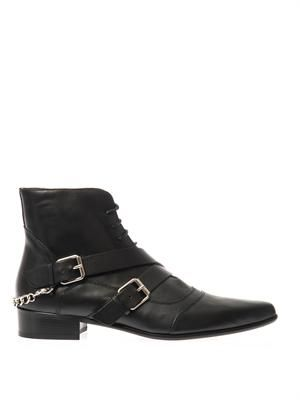 Bryon leather ankle boots