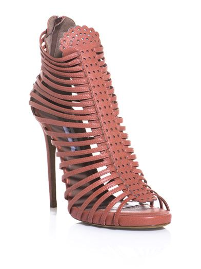 Tabitha Simmons Strippy sandals