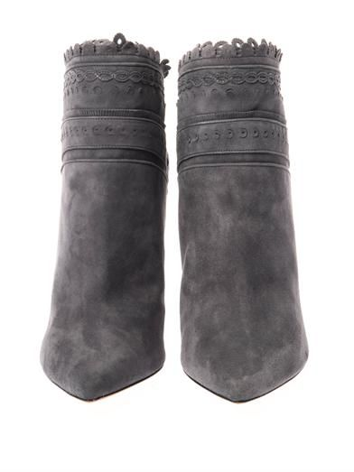 Tabitha Simmons Harmony suede ankle boots