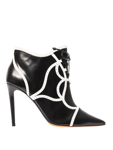 Tabitha Simmons Tinsley leather ankle boots