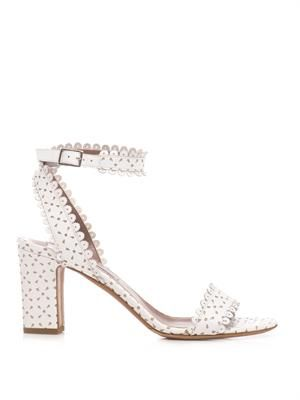 Leticia scalloped-edge sandal