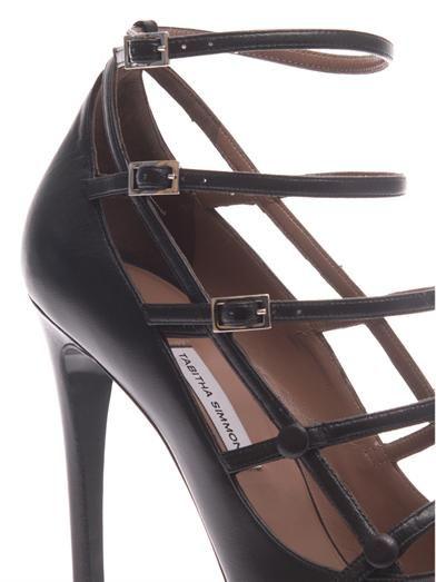 Tabitha Simmons Josephina leather pumps