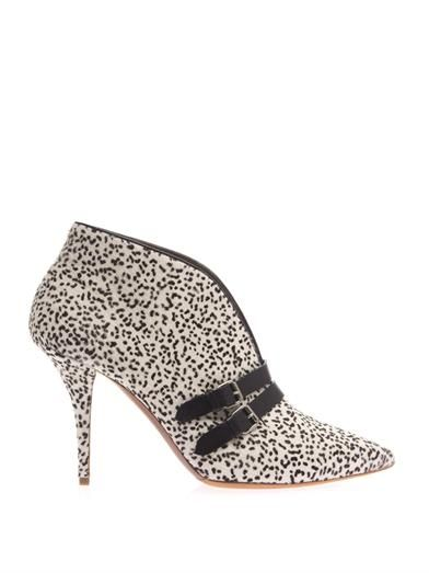 Tabitha Simmons Phoenix calf-hair ankle boots