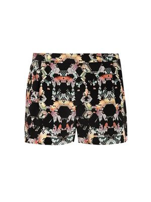 Kaleidoscope print shorts