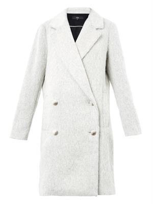 Kelby oversized double-breasted coat