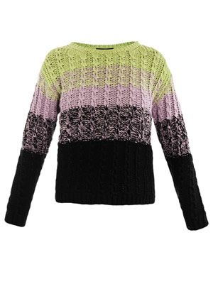 Multi ombre sweater