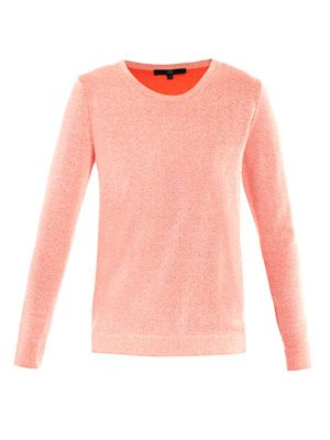 Reversible neon sweater