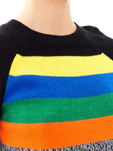 Tibi Multicoloured stripe sweater