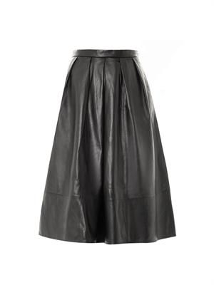 Full leather skirt