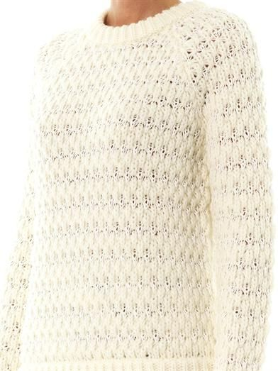 Tibi Honeycomb knit sweater