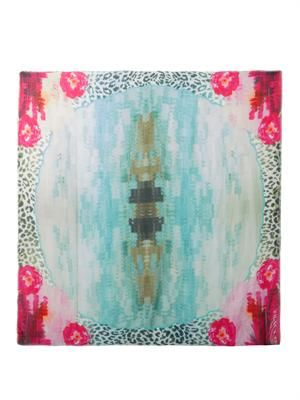 On The Lakes Of Udaipur-print scarf
