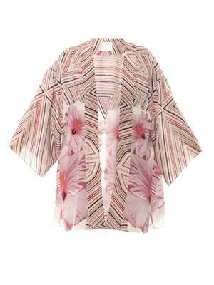 Bohemian in Byron kimono cover-up