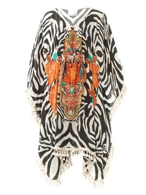 Swahili tassel edge kaftan