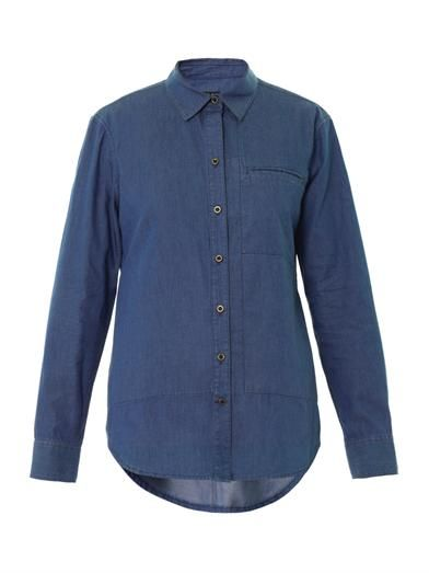 Theory Olava denim shirt