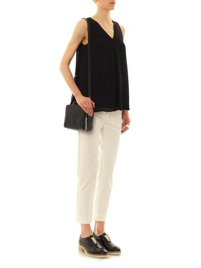 Theory Lesay silk-blouse