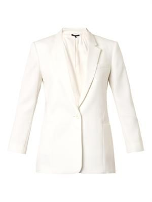 Lousine single-breasted blazer