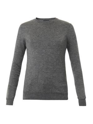 Perfect cashmere-blend sweater