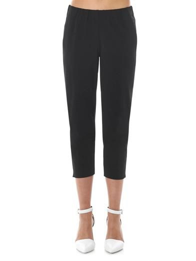 Theory Rhin tape-side tapered trousers